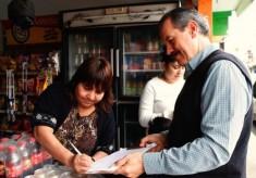 Promete Juan Bueno hacer respetar la ley en Veracruz, si llega al gobierno