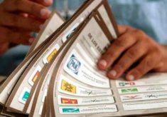Llegaron 229 mil 300 boletas para votar para gobernador el próximo 5 de junio