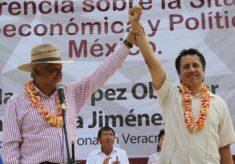 Andrés Manuel presente en el cierre de campaña de Cuitláhuac García