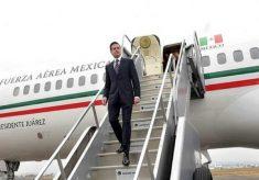 Peña Nieto regresa a México luego de gira por Sudamérica