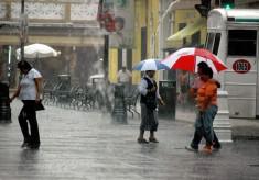 Tormentas fuertes en algunas zonas de Veracruz