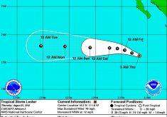 Se forma la tormenta tropical Lester