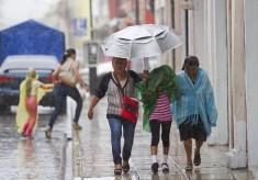 Se prevén lluvias muy fuertes en Veracruz y Chiapas