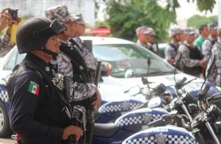 Recibe SSP y Policía Naval patrullas  para fortalecer la seguridad