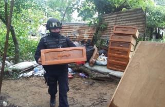 Aplica Policía Estatal Plan Tajín en la Teresa Morales de Coatzacoalcos
