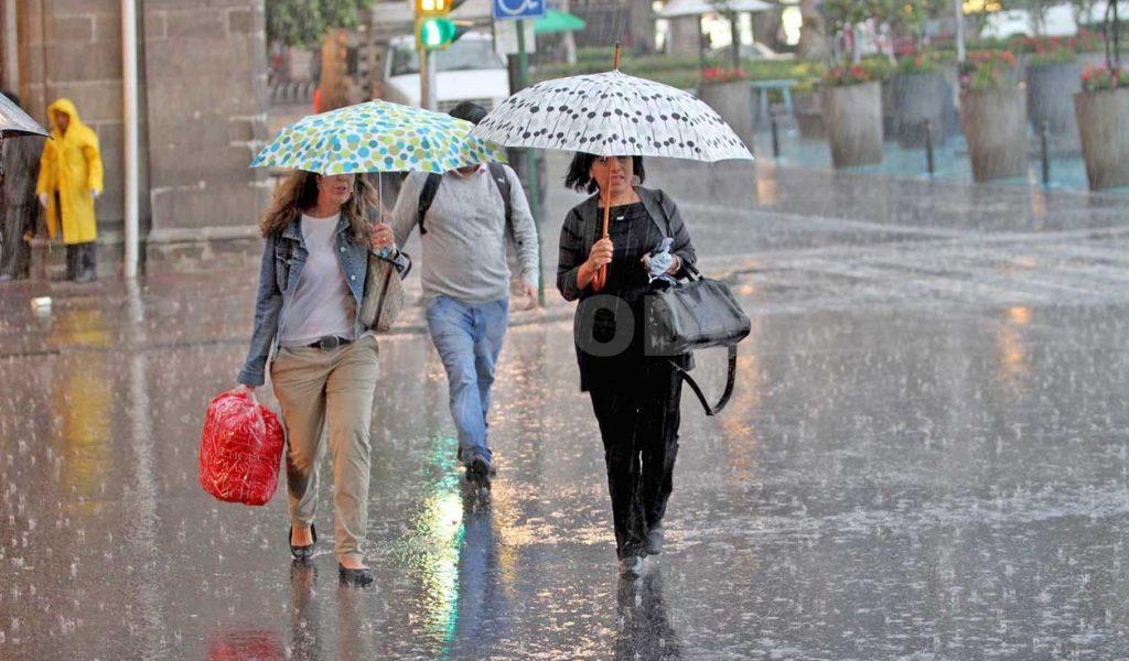 Prevé SMN lluvias en Guerrero, Puebla, Oaxaca, Veracruz y Chiapas