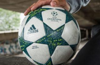¡Este es el nuevo balón de la Champions!