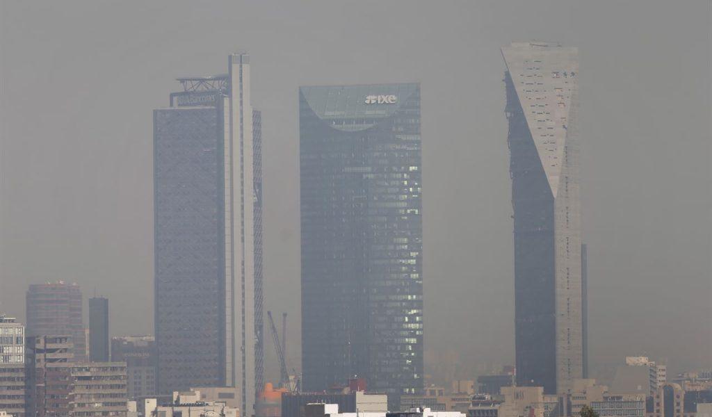 Otra vez amanece valle de México con 'mala' calidad del aire