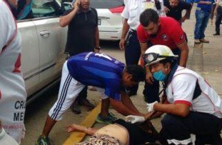 Dos baleados en Juan Escutia y Avenida Uno de Coatzacoalcos