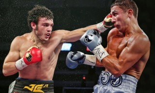 Mar 1 , 2014, San Antonio,Texas  ----  Former WBC Middleweight champion Julio Cesar Chavez Jr.,(L)  wins a 12-round unanimous decision over Bryan Vera(R) ,Saturday, from the Alamodome in San Antonio, Texas.    --- Photo Credit : Chris Farina - Top Rank (no other credit allowed) copyright 2014