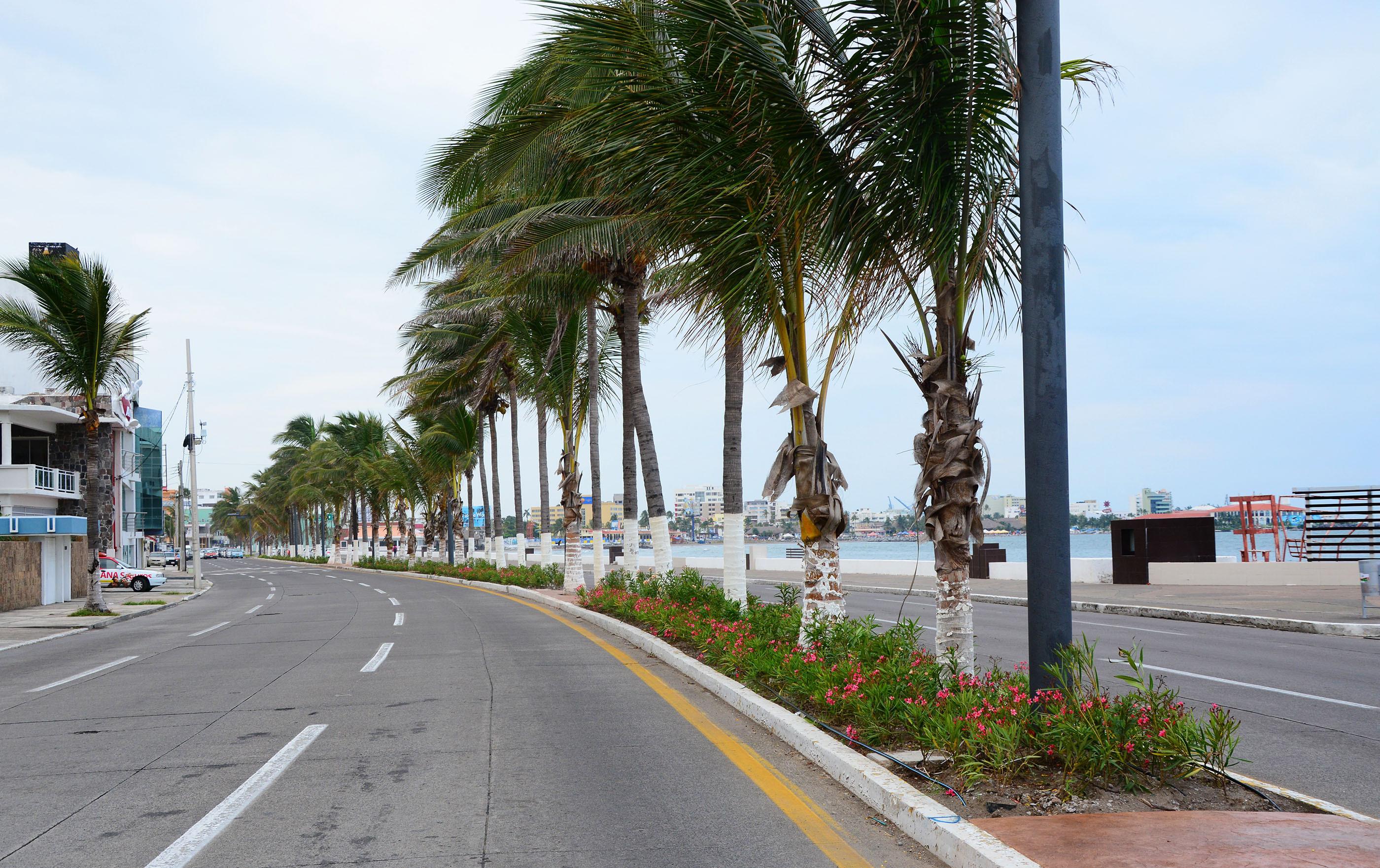 Cerrados bulevar y calles del centro en Veracruz para evitar contagios por coronavirus