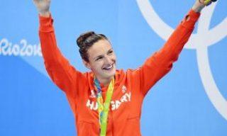 La húngara Hosszu gana oro y récord en natación